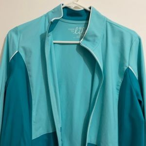 Teal med petite 'made for life' jacket